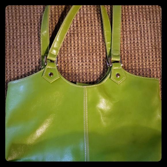 St. John's Bay Handbags - St John's bay green purse with change purse